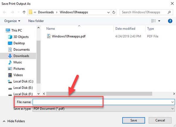 FIX: Microsoft Print to PDF not working on Windows 10 - 3
