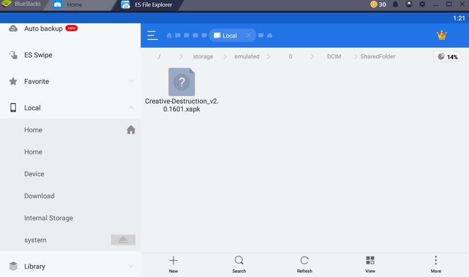 How To Install XAPK on PC With BlueStacks - 1