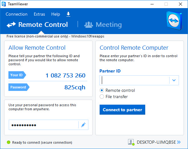 TeamViewer 10 Free Download For Windows 10/8/7