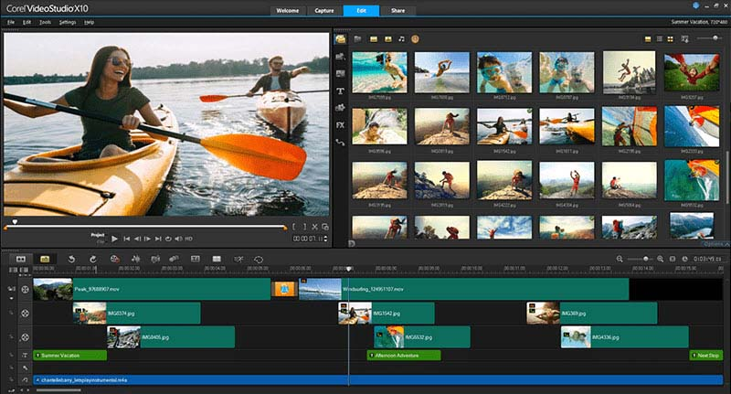 Corel VideoStudio Pro X10.5 - Video Editing Software For Windows 10