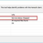 How To Fix Hamachi Service Stopped Error in Windows 10/8/7