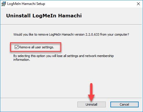 How To Uninstall Hamachi - 5