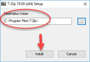 Install 7-Zip on PC - 1