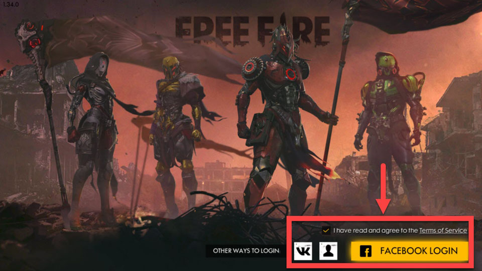 Play Garena Free Fire on PC - 1