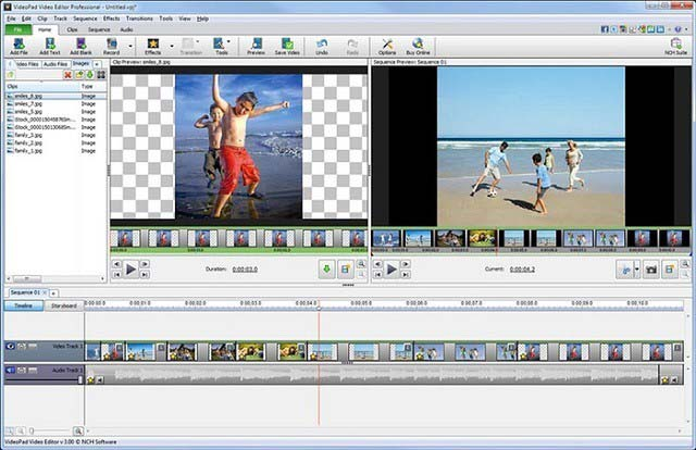 VideoPad - Video Editing Software For Windows 10