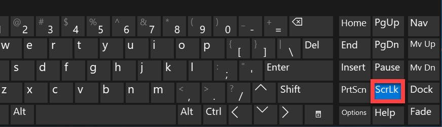 ScrLk key