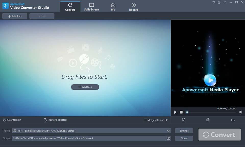 Apowersoft Video Converter Studio Free Download