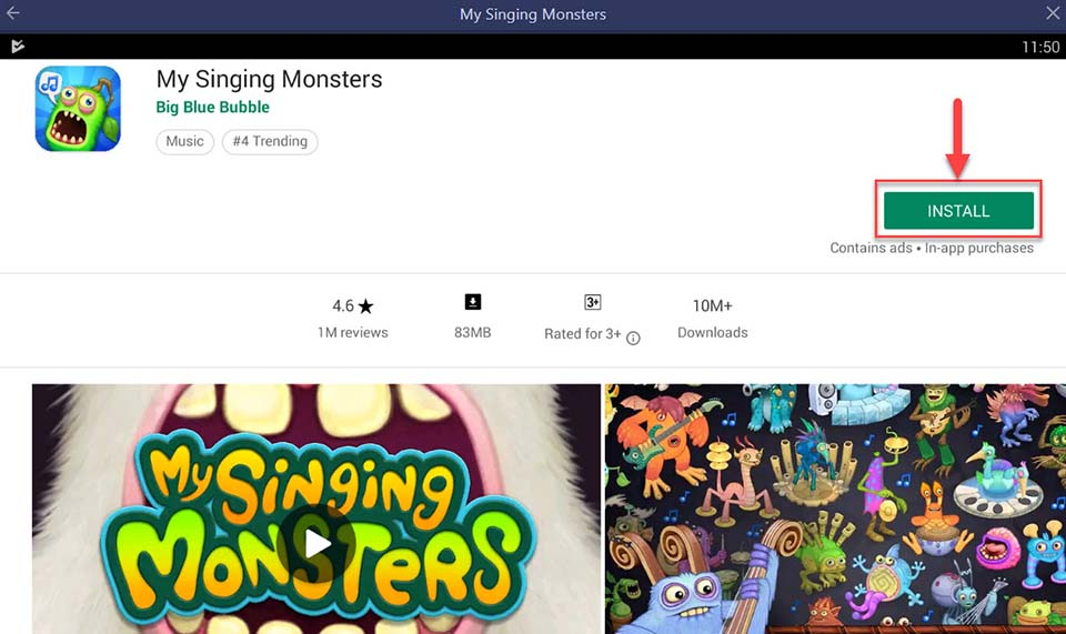 Download and Install My Singing Monsters For PC (Windows 10/8/7 and Mac)