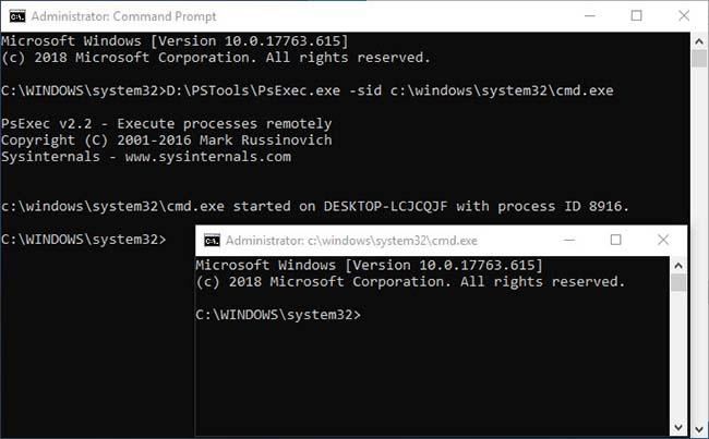 photos-error-psexec-system-cmd - Windows 10 Free Apps