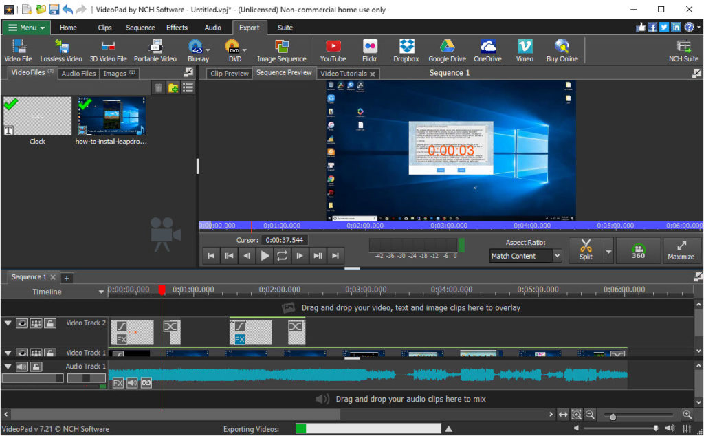 Videopad Video Editor Free Download - Windows 10 Free Apps ...