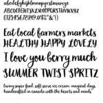 Garden Grow Regular Font
