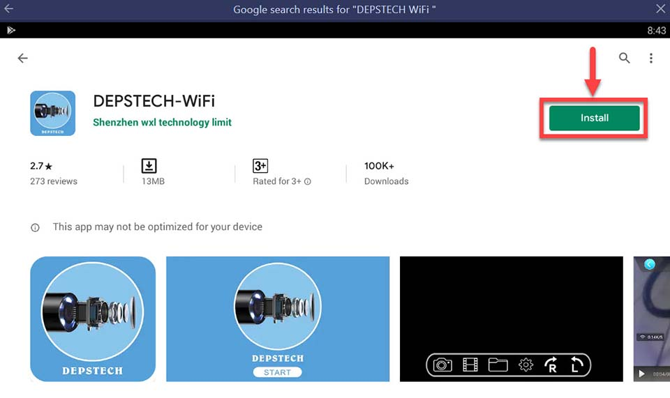 Download and Install DEPSTECH WiFi For PC (Windows 10/8/7)