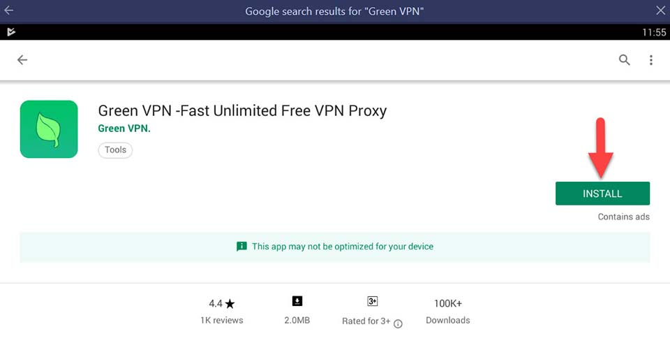 Green VPN For PC/Laptop (Windows 10/8/7/Mac) Free Download