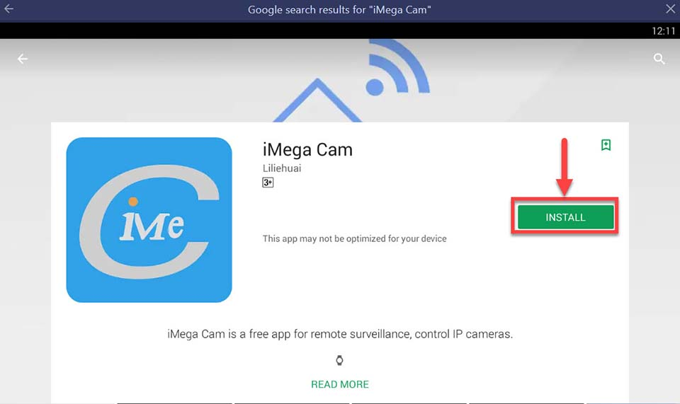 Download and Install iMega Cam For PC (Windows 10/8/7)