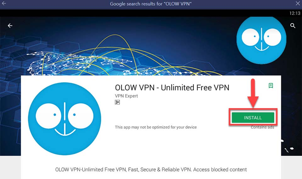Download and Install OLOW VPN For PC (Windows 10/8/7 and Mac)