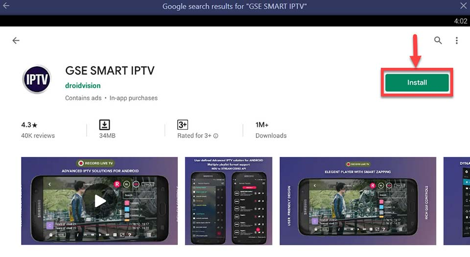 Download and Install GSE Smart IPTV For PC (Windows 10/8/7 and Mac)