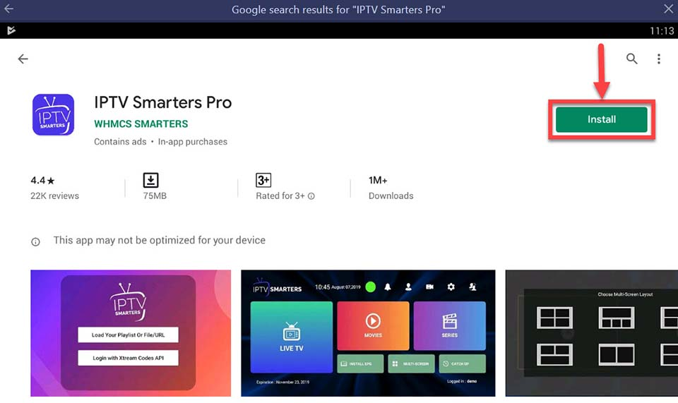 Download and Install IPTV Smarters Pro For PC (Windows 10/8/7 and Mac)