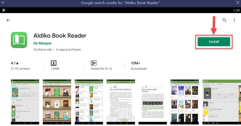 Download and Install Aldiko Book Reader For PC (Windows 10/8/7 and Mac)