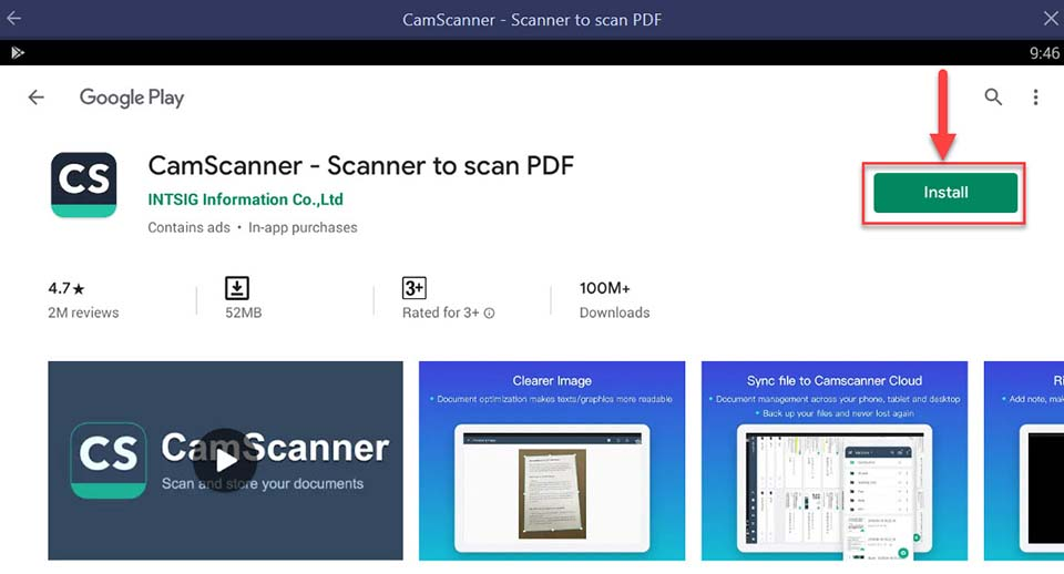 Download and Install CamScanner For PC (Windows 10/8/7/Mac)