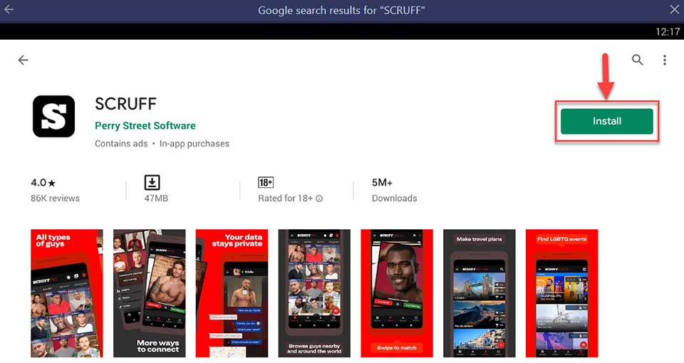 Download and Install SCRUFF For PC (Windows 10/8/7 and Mac)