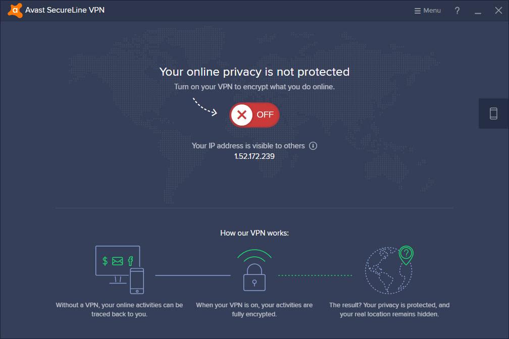 Avast SecureLine VPN For PC