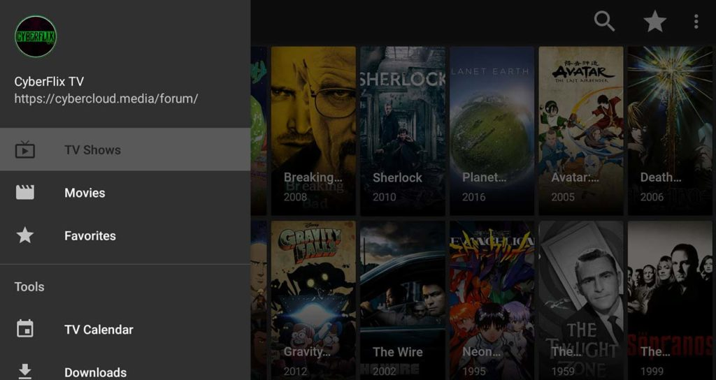 Cyberflix TV For PC Download