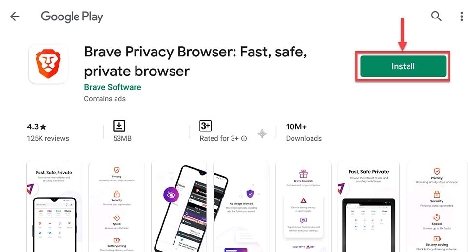 Download and Install Brave Browser For PC (Windows 10/8/7 and Mac)