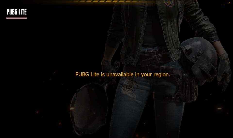 PUBG Lite is Unavailable in your Region