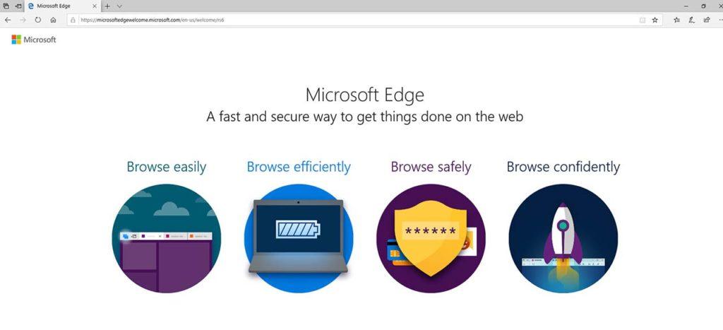 Reinstall Microsoft Edge Browser In Windows 10