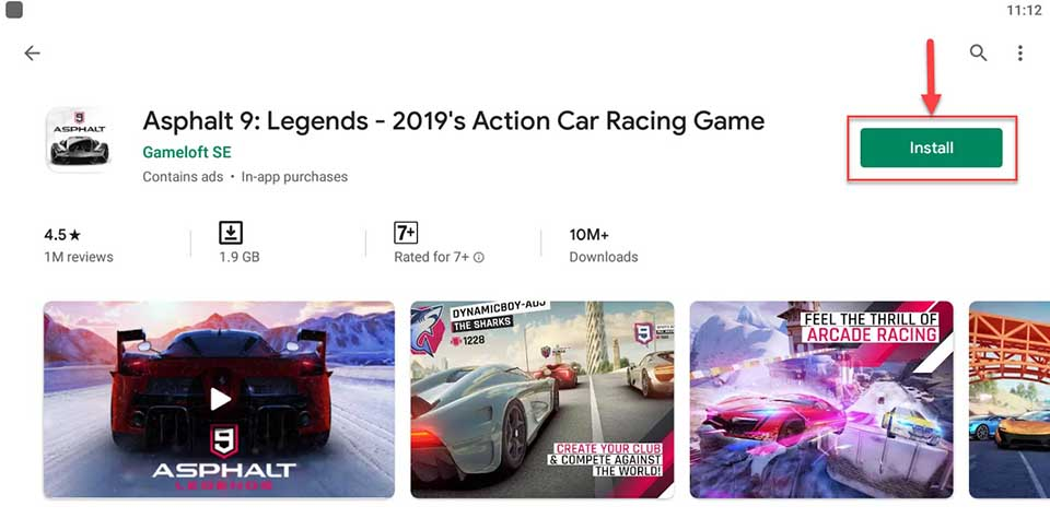 Download and Install Asphalt 9 Legends For PC (Windows 10/8/7 and Mac)