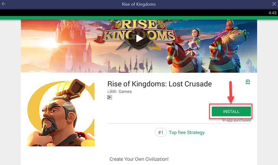 Download and Install Rise of Kingdoms on PC (Windows 10/8/7 and Mac)
