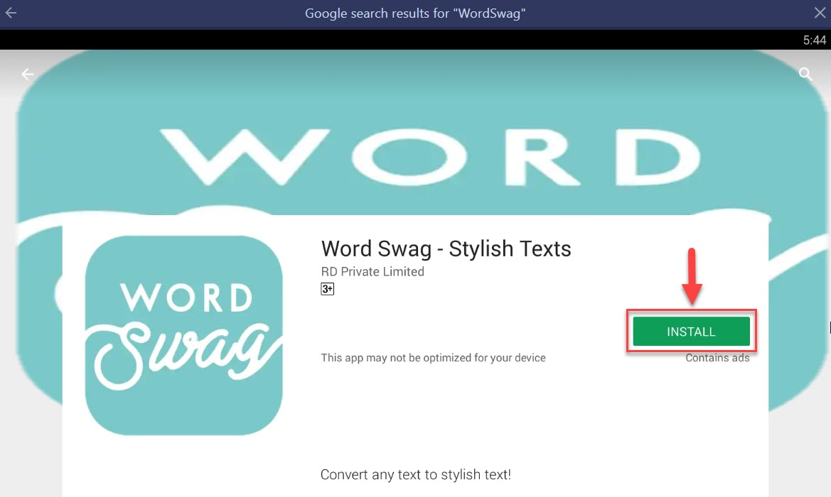 Download and Install WordSwag For PC (Windows 10/8/7 and Mac)