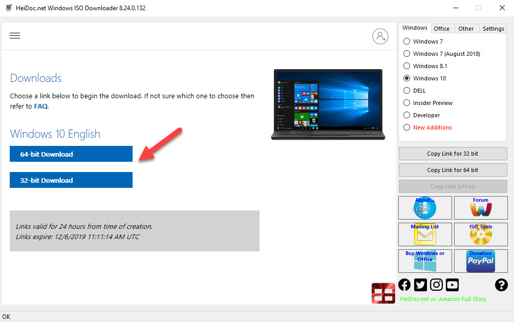 How To Download Windows 10 ISO File - Step04
