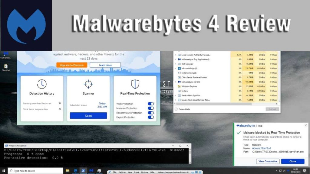 Malwarebytes 4 Review