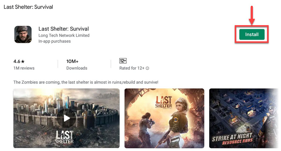 Download and Install Last Shelter Survival For PC (Windows 10/8/7 and Mac)