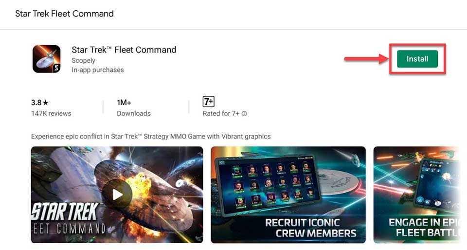 Download and Install Star Trek Fleet Command For PC (Windows 10/8/7 and Mac)