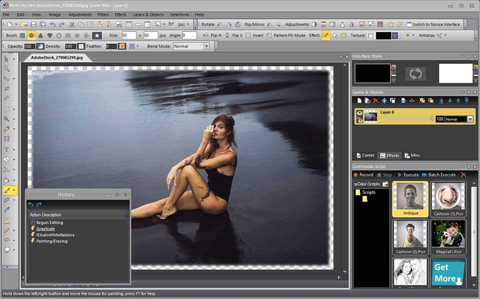 Photo Pos Pro photo editor for PC