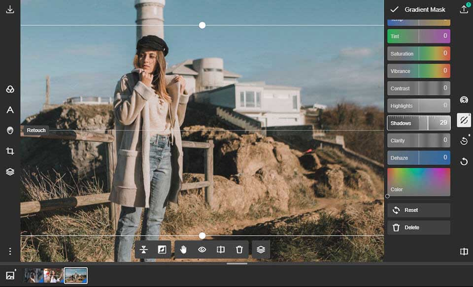 Polarr photo editor for PC