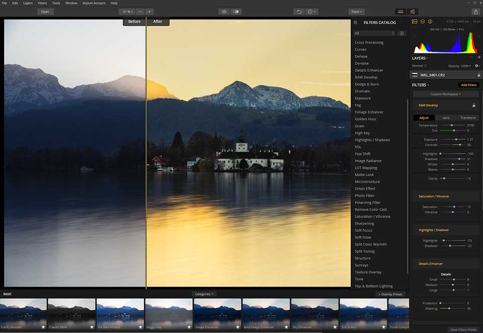 Skylum Luminar photo editor for PC