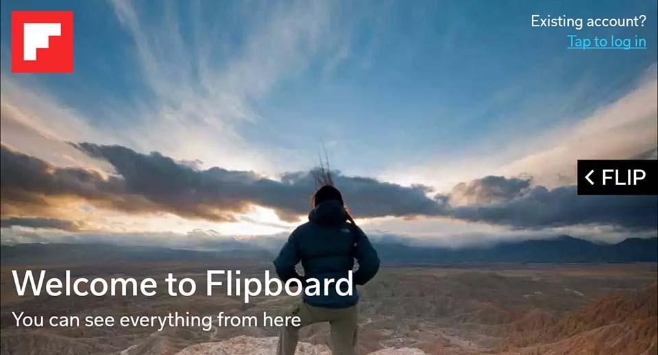 Flipboard app For PC