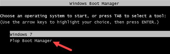 Adding Plop to the Windows Boot Menu - 03