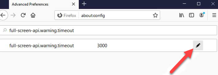 How To Disable Fullscreen Warning Message In Firefox Windows 10