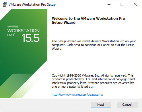 VMware Workstation Pro 15 Installation – Setup Wizard