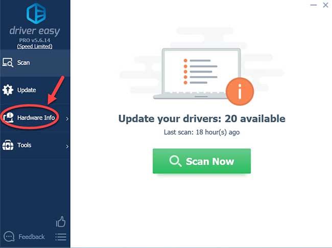 Hardware info driver easy