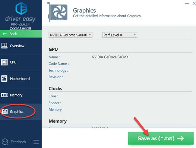 How to Check Graphics Card Model Using Driver Easy