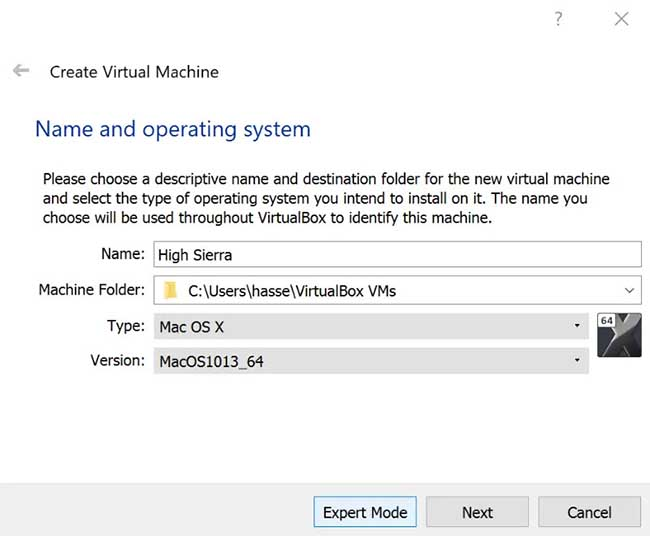 How to Create macOS Virtual Machine - 1