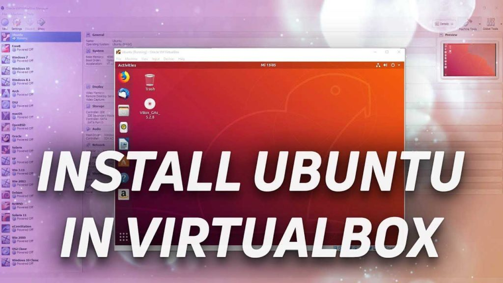 How To Install Ubuntu on VirtualBox