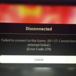 Roblox Error Code 279 ID=17