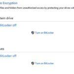How to turn off BitLocker in Windows 10
