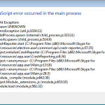 """How to Fix the """"A JavaScript Error Occurred in the Main Process"""" Error"""